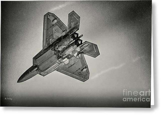 Lockheed Martin F-22 Raptor Greeting Card