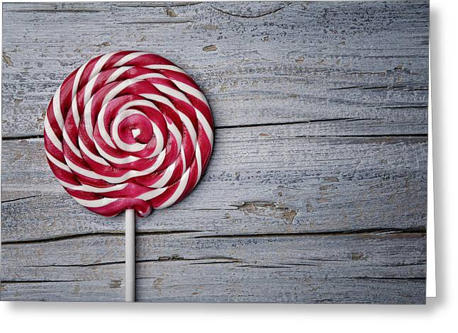 Lollipop Greeting Card by Nailia Schwarz