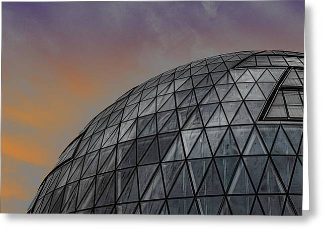 London City Hall Greeting Card by Martin Newman