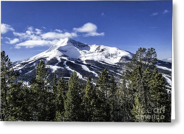 Lone Mountain Greeting Card
