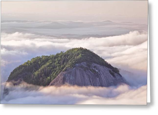 Pisgah Greeting Cards - Looking Glass Rock Greeting Card by Rob Travis