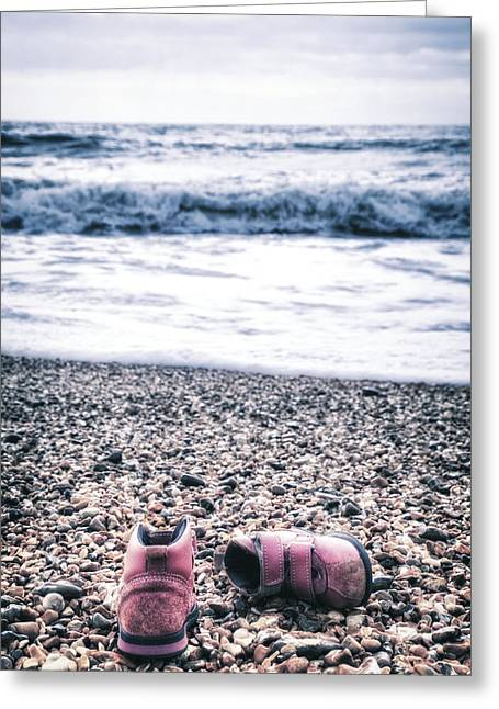 Lost Shoes Greeting Card by Joana Kruse