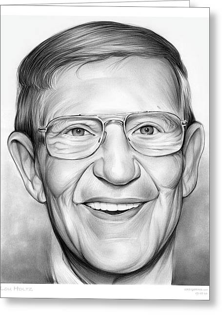 Lou Holtz Greeting Card