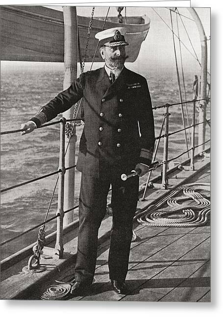 Louis Alexander Mountbatten, 1st Greeting Card