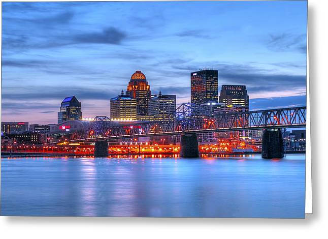 Louisville Kentucky Greeting Card