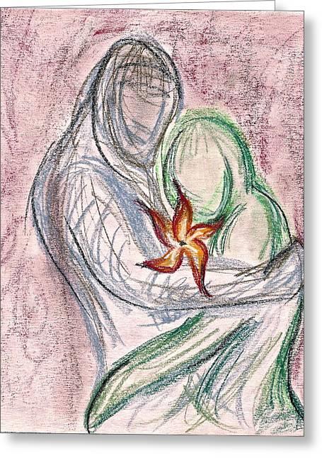 Love Grows Greeting Card by Jennifer Addington