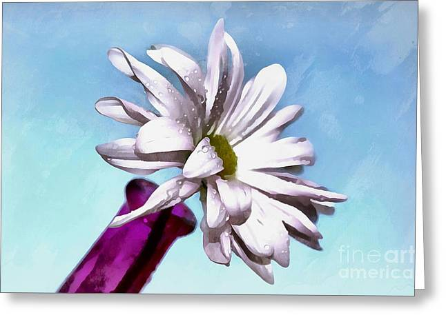 Love Is Pure Greeting Card by Krissy Katsimbras