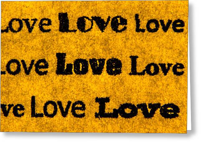 Love... Greeting Card