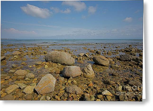 Greeting Card featuring the photograph Low Tide by Nicola Fiscarelli