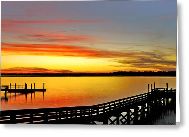 Lowcountry Autumn Greeting Card by Phill Doherty