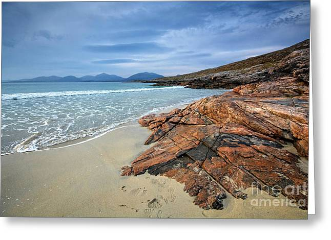 Luskentyre, Isle Of Harris Greeting Card