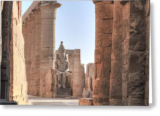 Luxor Temple - Egypt Greeting Card