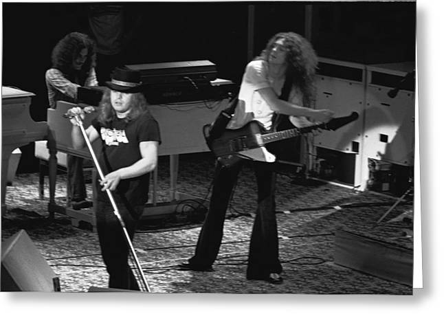Lynyrd Skynyrd At Winterland Greeting Card