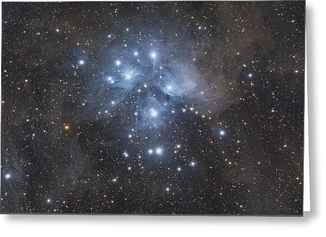M45 - Pleiades Greeting Card