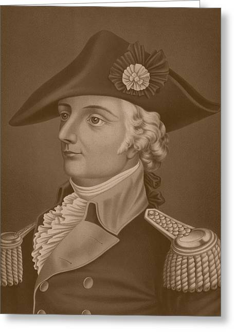 Mad Anthony Wayne Greeting Card