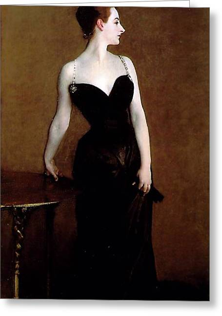 Madame X Greeting Card