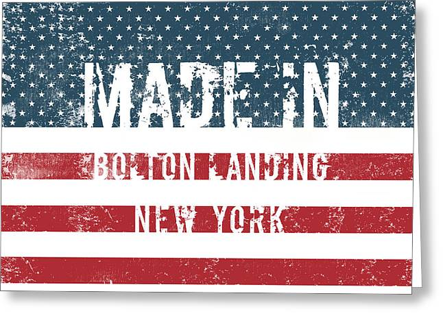 Made In Bolton Landing, New York Greeting Card