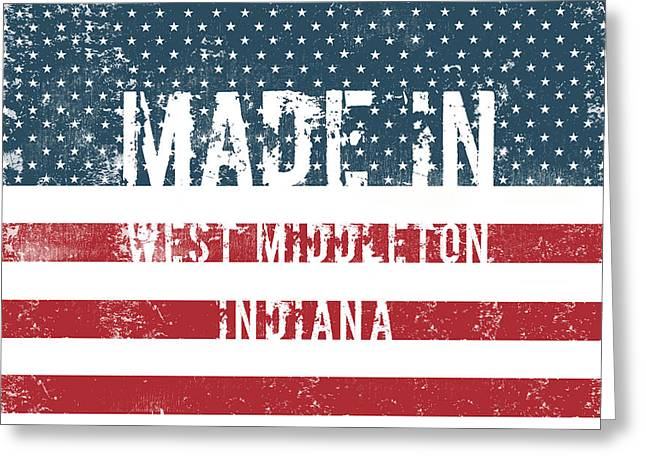 Made In West Middleton, In Greeting Card