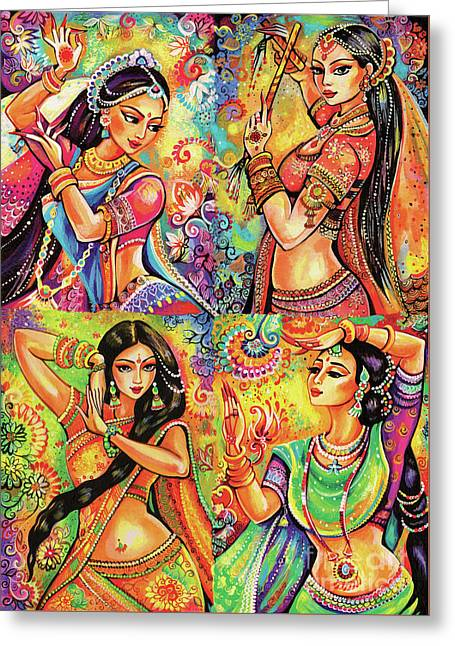 Magic Of Dance Greeting Card by Eva Campbell