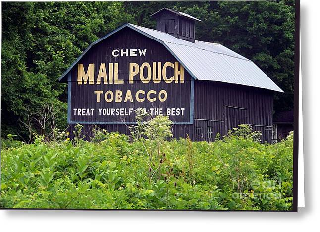 Mail Pouch Barn Greeting Card