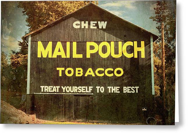 Mail Pouch Barn - Oh 93 #4 Greeting Card