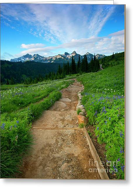 Majestic Trail Greeting Card