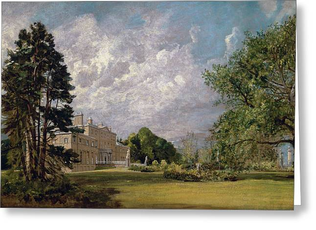 Malvern Hall, Warwickshire Greeting Card by John Constable