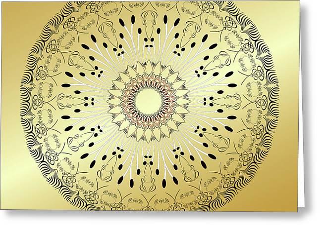 Mandala No. 95 Greeting Card