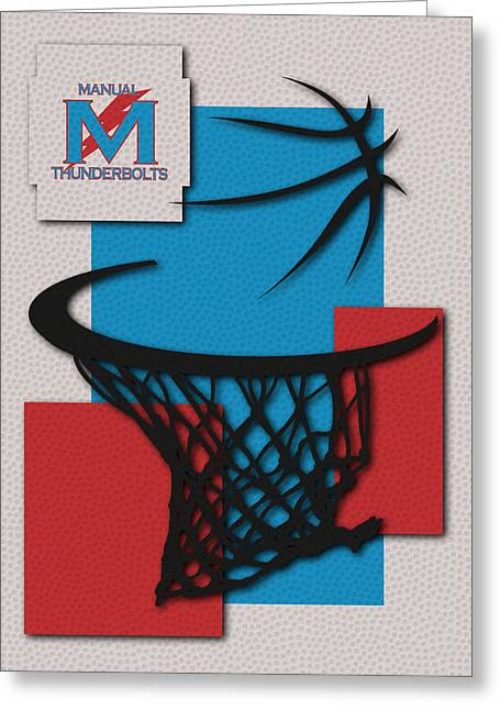 Manual Thunderbolts Greeting Card by Joe Hamilton