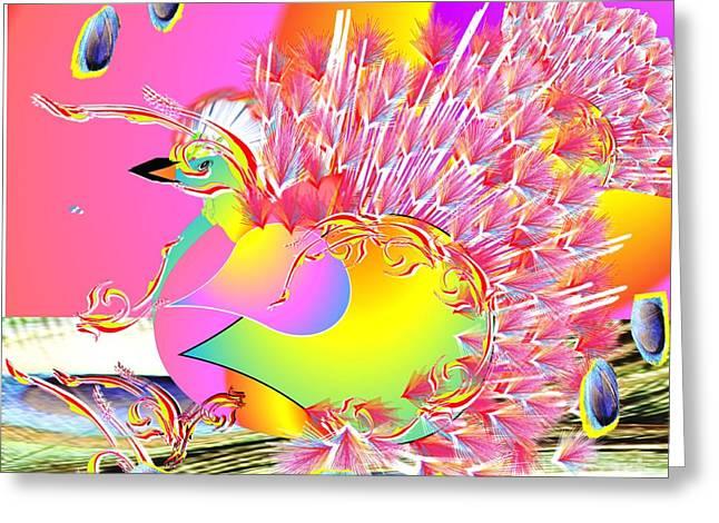Many Colors Greeting Card by Belinda Threeths