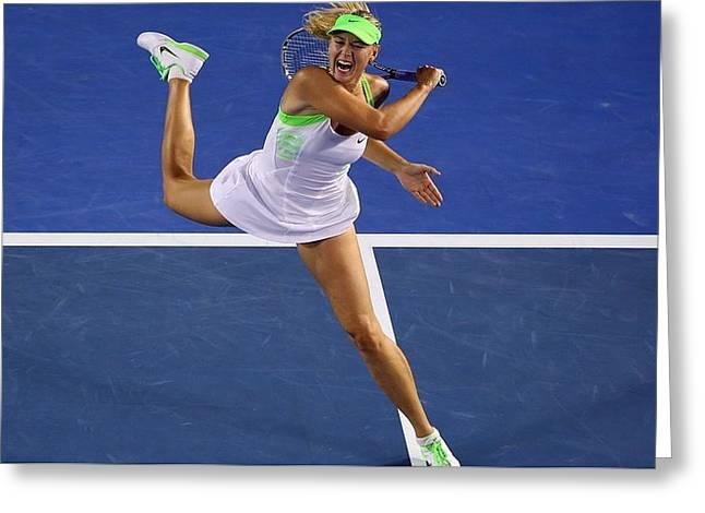 Maria Sharapova                     Greeting Card
