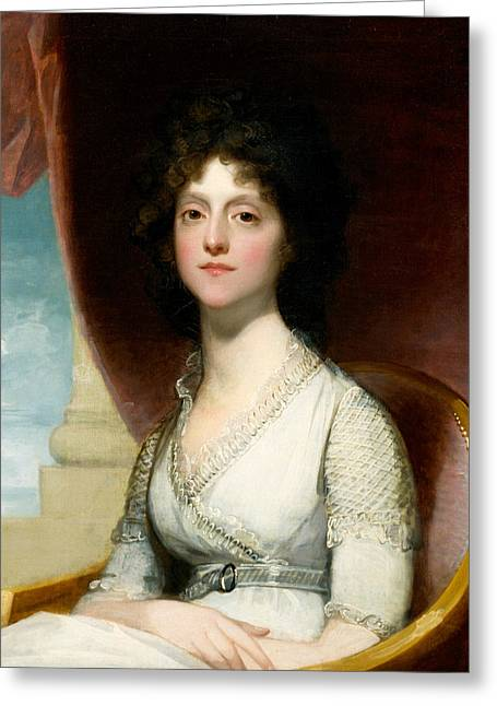 Marianne Ashley Walker  Greeting Card by Gilbert Stuart