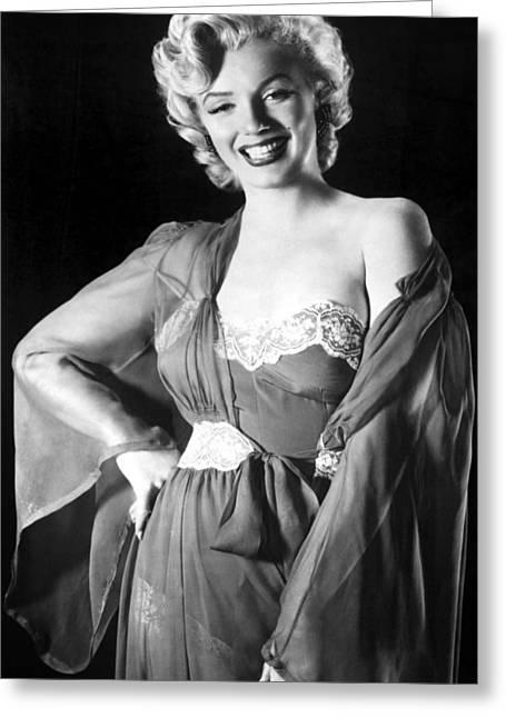 Marilyn Monroe Greeting Card by American School