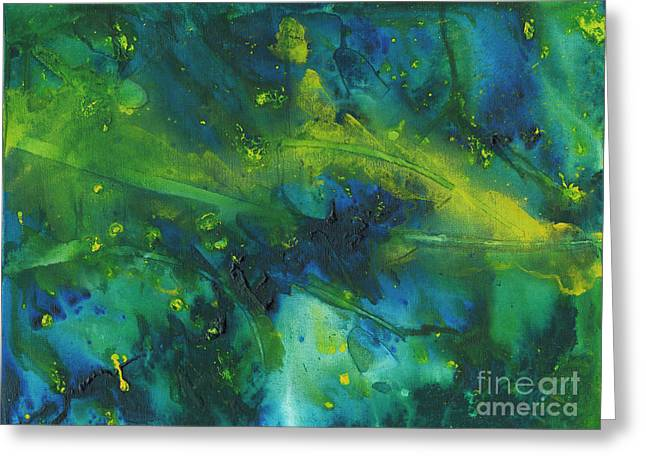 Marine Forest Greeting Card