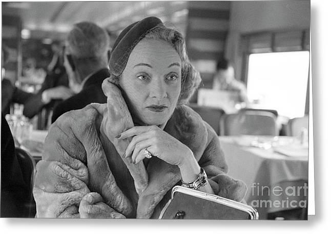 Marlene Dietrich Greeting Card