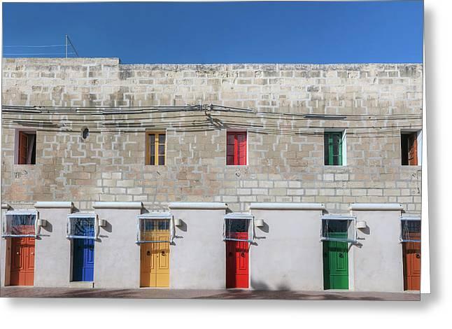 Marsaxlokk - Malta Greeting Card by Joana Kruse