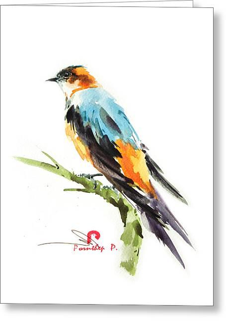 Martin Bird Greeting Card