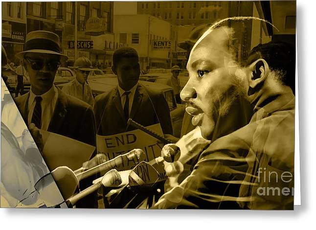 Martin Luther King Collection Greeting Card