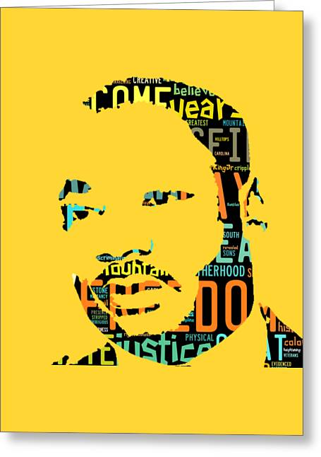 Martin Luther King Jr I Have A Dream Greeting Card