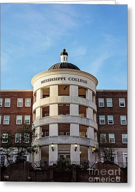 Mary Nelson Hall - Mississippi College Greeting Card