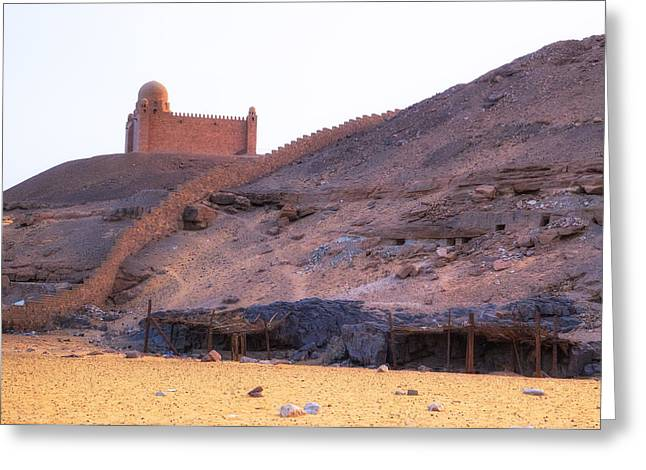 Mausoleum Of Aga Khan - Egypt Greeting Card by Joana Kruse