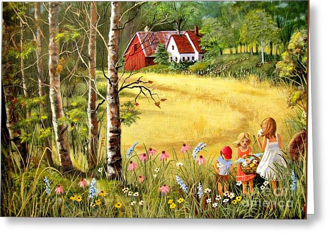 Memories For Mom Greeting Card by Marilyn Smith