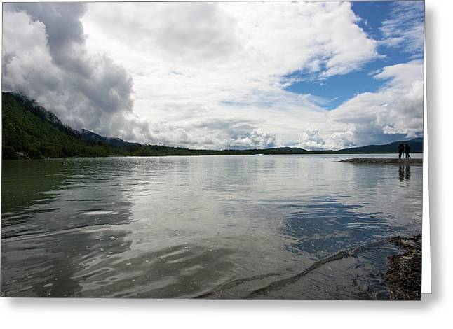 Mendenhall Lake Greeting Card