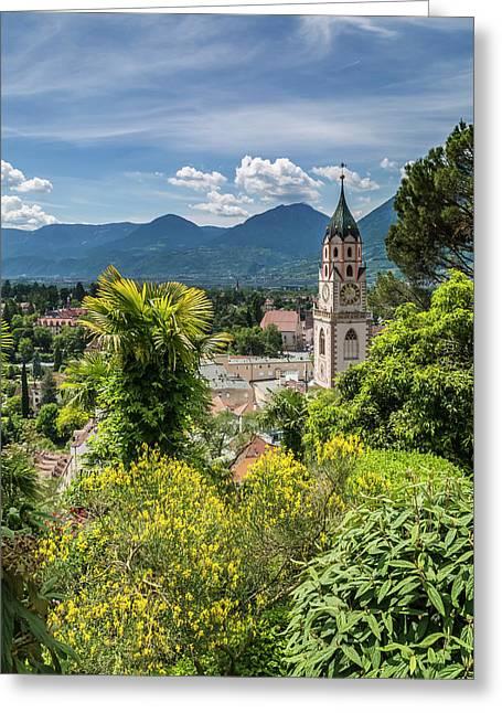 Merano Church Of St Nicholas Greeting Card