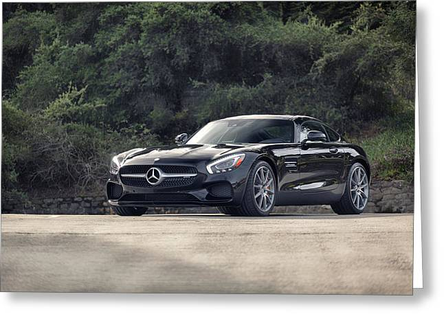 #mercedes #amg #gts Greeting Card