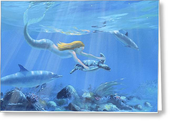 Mermaid Fantasy Greeting Card