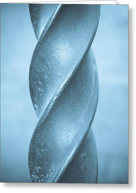 Metal Spiral Greeting Card by Tom Gowanlock