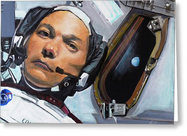Michael Collins Greeting Card