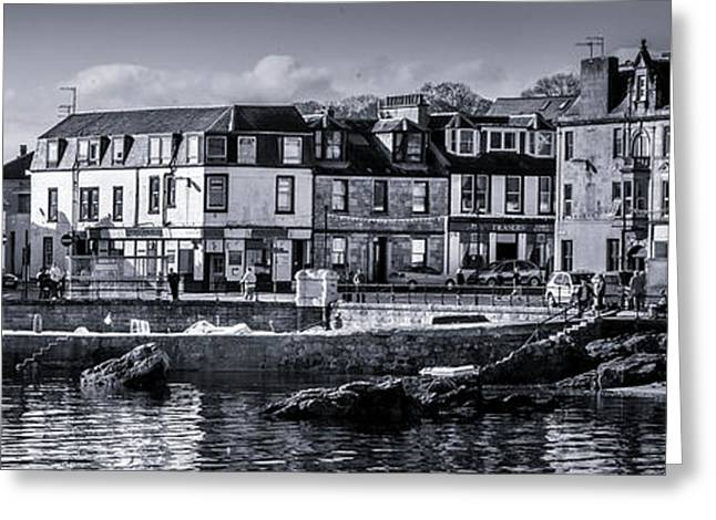 Millport Harbour Greeting Card
