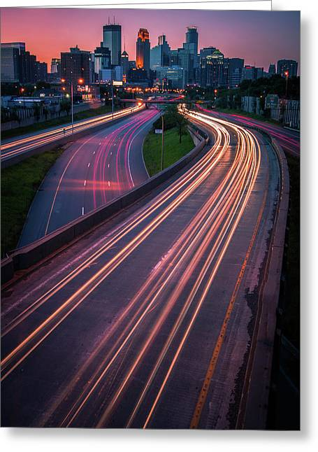Minneapolis In Motion Greeting Card